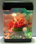 Декоративный аквариум-cветильник