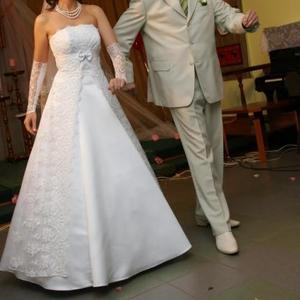 Продаю очень изящное свадебное платье