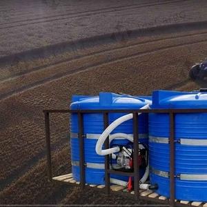 Кассета двухемкостная для транспортировки воды и жидких удобрений