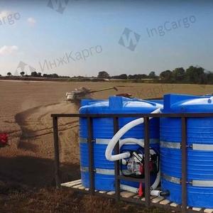 Кассета двухемкостная для перевозки воды и КАС32