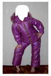 Продам зимний комбинезон на девочку 5-6 лет