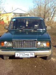 Продаётся машина ВАЗ-2107